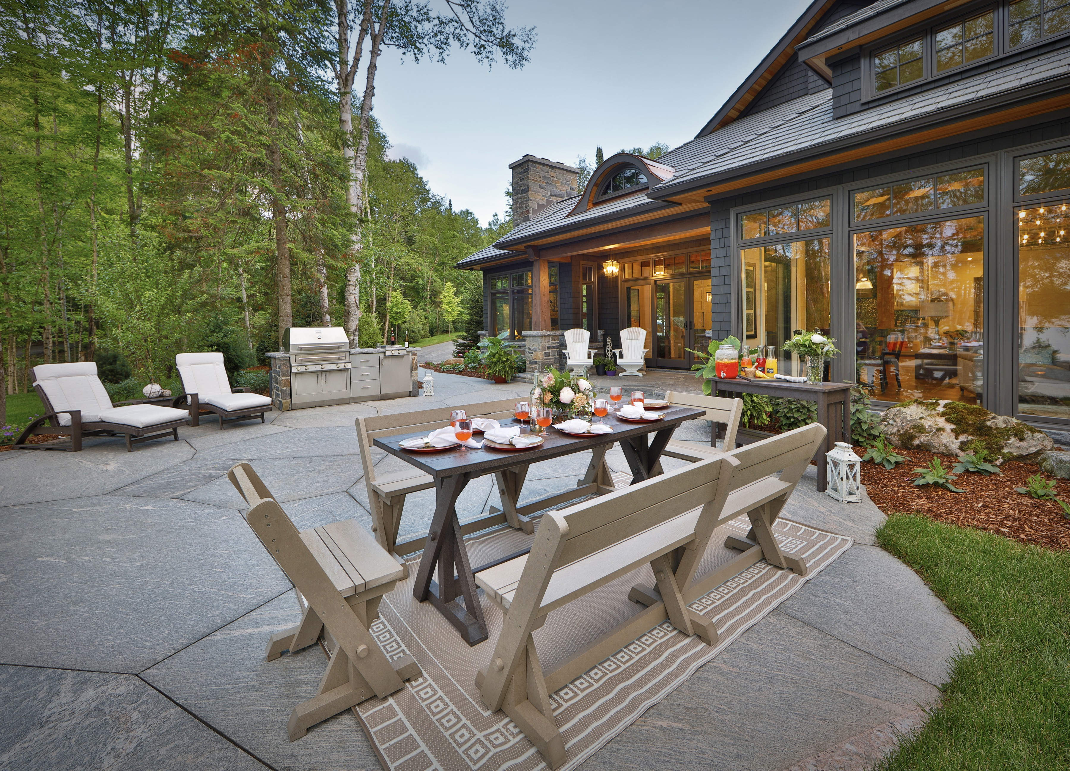 Tips for Designing the Perfect Outdoor Living Space ... on Garden Living Space id=39432