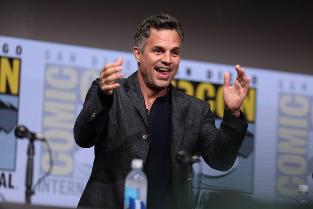 "Mark Ruffalo speaking at the 2017 San Diego Comic Con International, for ""Thor: Ragnarok"", at the San Diego Convention Center in San Diego, California. - GAGE SKIDMORE/FLICKR"