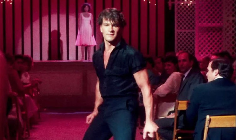 "Patrick Swayze in ""Dirty Dancing"""