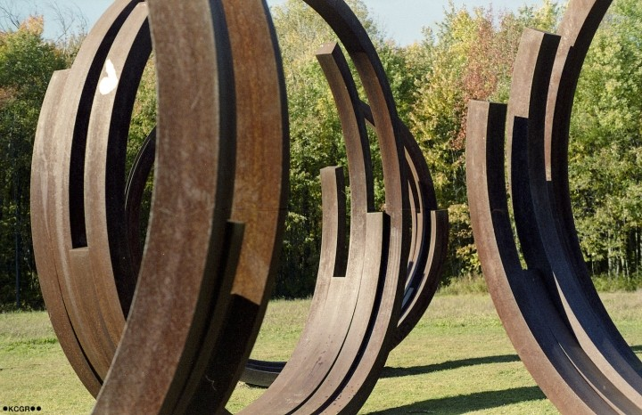 Art Omi is home to a collection of stunning sculptures.