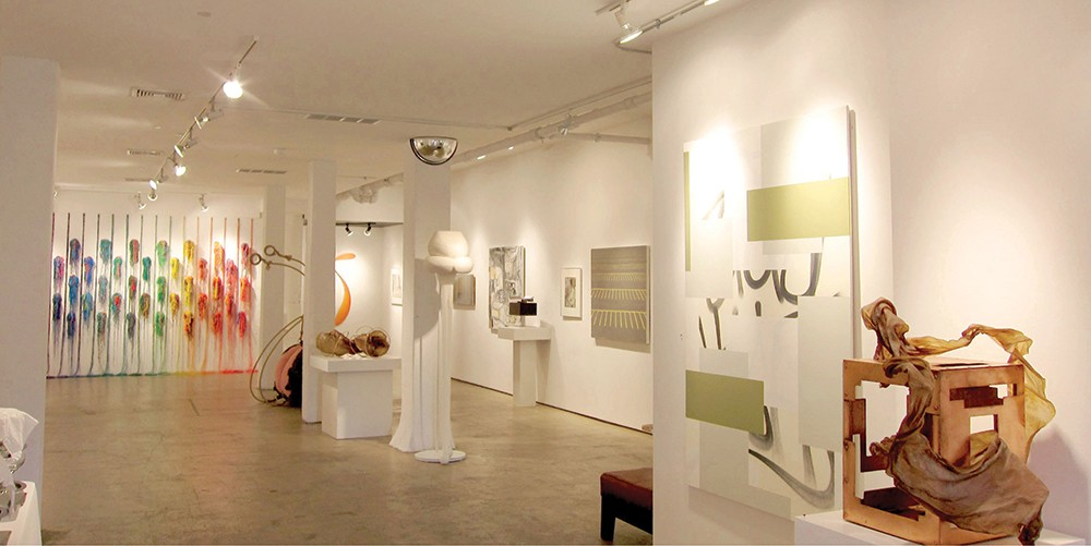 The Ann Gallery at The Cornerstone offers an exhibit space for local artists.