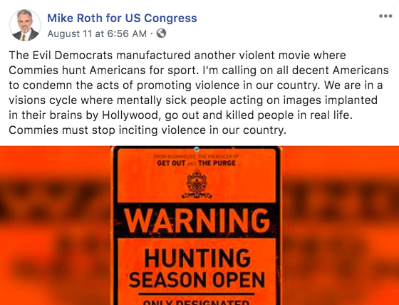 MIKE ROTH FOR US CONGRESS