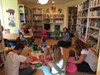 Michael Grant with preschoolers