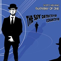 Album Review: Scott Helland Guitarmy of One | Spy Detective Collective