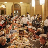 Beefsteak Dinner at the CIA