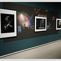 Rock Photo Exhibit on View in Albany