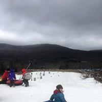 Snow Tubing at Hunter Mountain