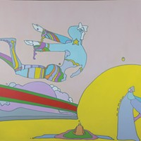 Peter Max at Bethel Woods