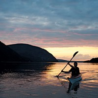 Kayak Down the Hudson River This Summer