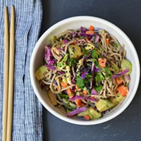 Recipe: Sesame Soba Salad with Avocado