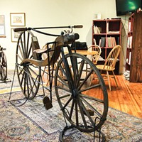 The Velocipede Museum's Grand Opening in Newburgh 8/10
