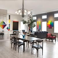 Designer Francis Rick Gillette's Ever-Evolving Hudson Loft