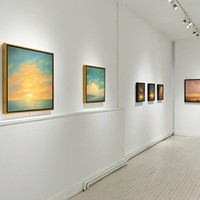 """A Quiet Respite"" at the Carrie Haddad Gallery and the Ethereal Landscapes of Jane Bloodgood-Abrams"