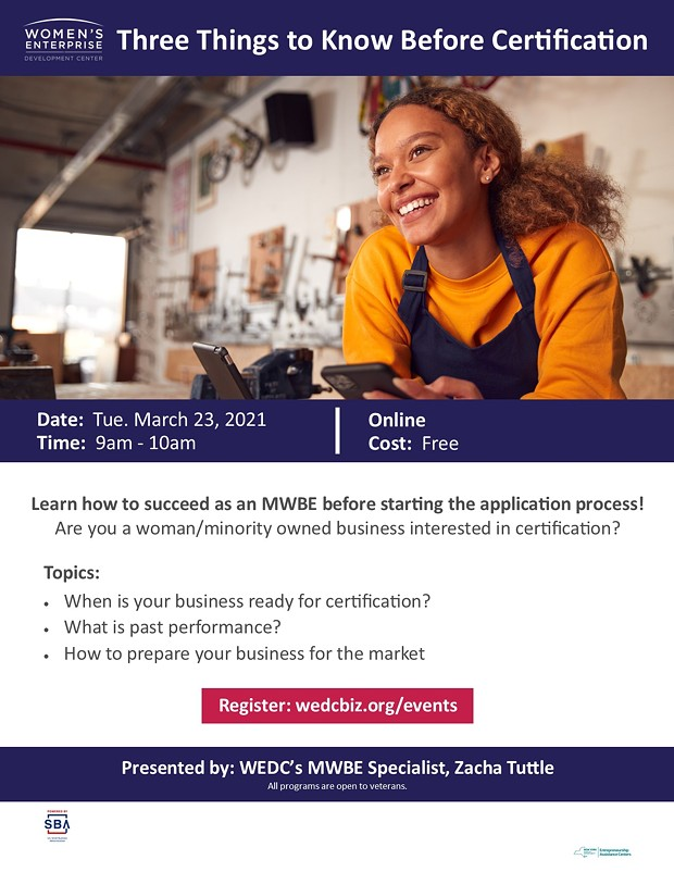 Three Things to Know Before Certification | Business ...