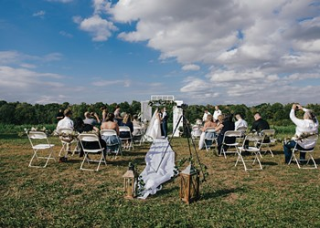 Love Won't Wait: Weddings in the Time of COVID