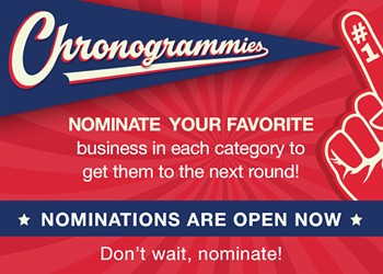 2021 Chronogrammies Nominations Are Now Open!