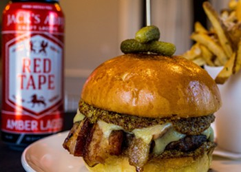 Wind Down on Wednesdays with a Burger and Beer at Willow by Charlie Palmer