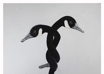Steven Strauss's Geese Paintings