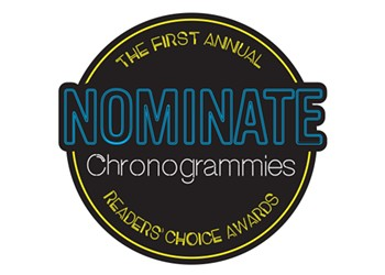Chronogrammies Nominations Now Open!