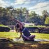 Yoga at Opus 40 @
