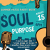 Soul Purpose – Summer Patio Party @ Lydia's Cafe
