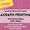 Virtual Art Class - Collagraph Printmaking - Cornell Creative Arts Center @