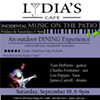 Tom DePetris Quartet @ Lydia's Cafe