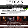 Jeff Ciampa Quartet w/ Chris Pasin, John Menegon & Jeff Siegel @ Lydia's Cafe