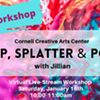 FREE Virtual Art Workshop: Drip, Splatter & Pour @