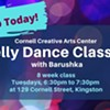 $12-$80 - Belly Dancing with Barushka @ Cornell Creative Arts Center