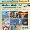 Ex Libris: Artists Explore Literature @ The Goshen Music Hall/Goshen Art League Gallery