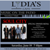 Music on the Patio w/ Soul City @ Lydia's Cafe
