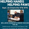 Helping Hands, Helping Paws @ Greenville VFW Post 3175