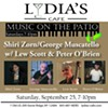Shiri Zorn/George Muscatello w/ Lew Scott & Peter O'Brien @ Lydia's Cafe