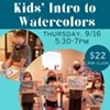 Kids Intro to Watercolors - Painting Class @ Cornell Creative Arts Center