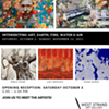 Intersecting Art, Earth, Fire, Water & Air @ West Strand Art Gallery
