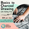 Basic Charcoal Drawing Class @ Cornell Creative Arts Center