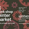 Work:Shop Winter Market @ Wickham Solid Wood Studio