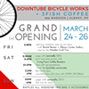 Grand (re)Opening: 3Fish Coffee & Downtube Bicycle Works! @ Downtube Bicycle Works