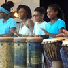 Just for Fun: West African Dance & Drum Workshop Performance @ PS21: Performance Spaces for the 21st Century