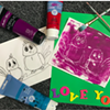 Kids Card/Printmaking Workshop @ Roost Studios & Art Gallery