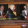 7-String Master Jazz: Bucky Pizzarelli, Martin Pizzarelli & Ed Laub @ Torne Valley Vineyards