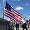 Flag Changing Ceremony @ Walkway Over the Hudson