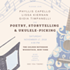 Poetry, Storytelling & Ukulele-Picking with Phyllis Capello, Lissa Kiernan & Gioia Timpanelli @ The Golden Notebook