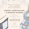 Poetry, Storytelling & Ukulele-Picking with Phyllis Capello, Lissa Kiernan & Gioia Timpanelli @ The Golden Notebook