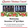 Dover Boys & 4 Reasons Quartets Holiday Concert @ Plattekill Library