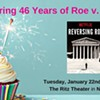 Honoring 46 Years of Roe v. Wade (+ RHA Celebration!) @ The Ritz Theater