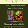 Music & Cuisine of India @ Lydia's Cafe