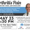 Arthritis Pain on the Hip, Knee and Shoulder @ Homewood Suites Hotel by Hilton at Stewart Airport