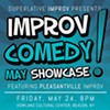 Improv Comedy May Showcase @ Howland Cultural Center